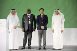 1 ITFC CEO Eng Hani Salem Sonbol alongside Prof Benedict Oramah Presiden....jpg