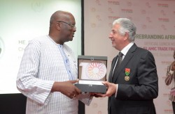 CEO ITFC honours H.E. Roch Christian Kabore, President of Burkina Faso after receiving Hono....jpg